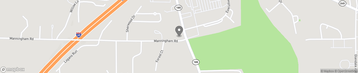Map of 901 Fort Dale Rd in Greenville