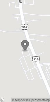 Map of 7171 Nolensville Pike in Nolensville