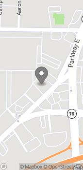 Map of 9256 Parkway E in Birmingham