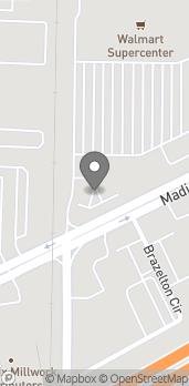 Mapa de 8640 Madison Boulevard en Madison