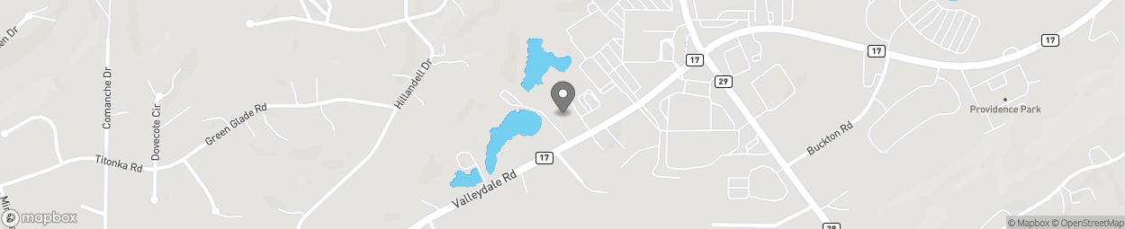 Map of 1801 Valleydale Cove in Hoover