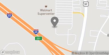 Map of 297 Supercenter Drive in Calera