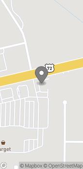 Mapa de 8135 Hwy 72 West en Madison