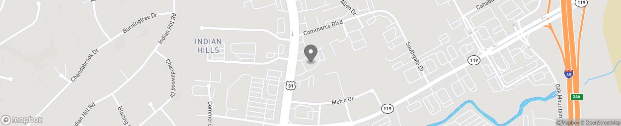 Map of 2247 Pelham Parkway in Pelham