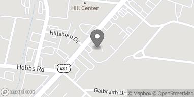 Map of 4106 Hillsboro Pike in Nashville