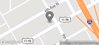 Map of 824 3rd Ave North in Birmingham