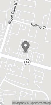 Map of 1311 Murfreesboro Road in Franklin