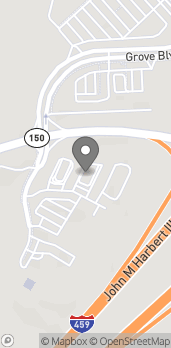 Mapa de 5180 Medford Drive en Hoover