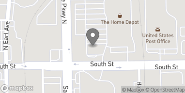 Map of 311 Sagamore Pkwy N in Lafayette