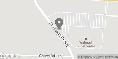 Mapa de 1950 St. Joseph Drive NW en Cullman