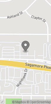 Map of 404 Sagamore Parkway Way in West Lafayette