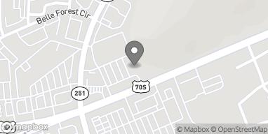 Map of 7032 Hwy 70 S in Nashville