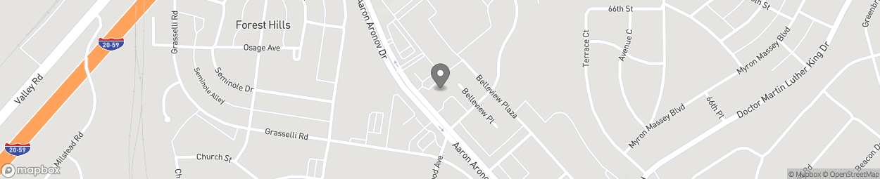 Map of 6556 Aaron Arnov Drive in Fairfield