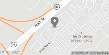 Map of 2014 Crossings Circle in Spring Hill