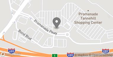 Mapa de 4949 Promenade Parkway en Bessemer