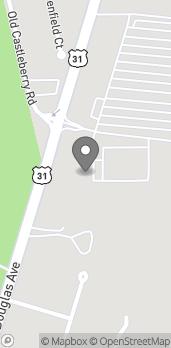 Mapa de 2550 Douglas Ave en Brewton