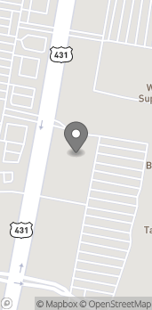 Map of 5115 Frederica St in Owensboro