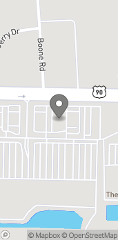 Map of 4749 Hwy 90 in Pace