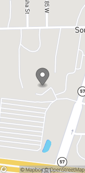 Map of 1735 S State Rd 57 in Washington