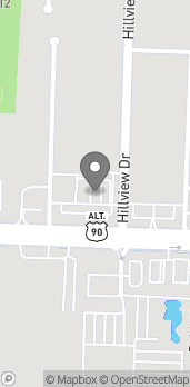 Map of 1680 E Nine Mile Rd in Pensacola