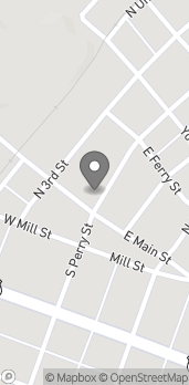 Map of 104 North Perry St in Attica