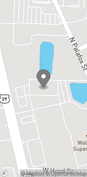 Map of 9000 Pensacola Blvd in Pensacola