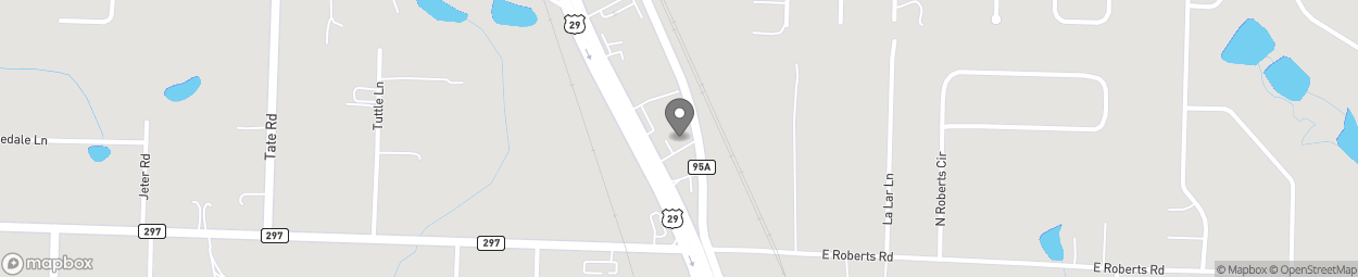 Map of 2440 Highway 29 South in Cantonment