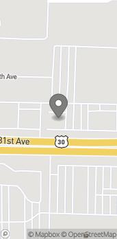 Mapa de 2629 E 80th Ave en Merrillville