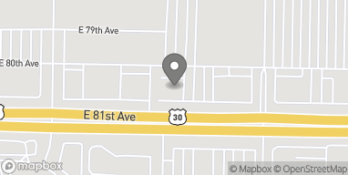 Mapa de 2629 E 80th Ave en Merrillville