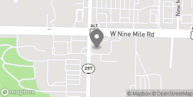 Mapa de 2159 West Nine Mile Road en Pensacola
