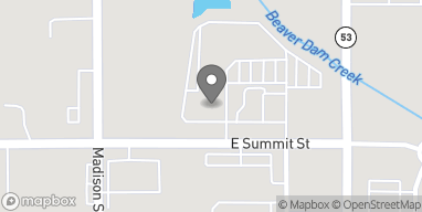 Mapa de 1612 E Summit St en Crown Point