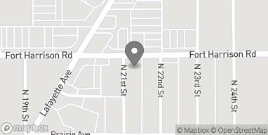 Map of 3247 N 21st Street in Terre Haute