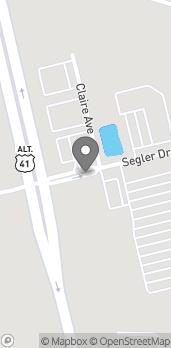 Map of 109 Segler Drive in Oak Grove