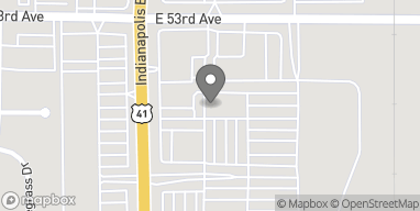 Map of 59 Indianapolis Blvd in Schererville