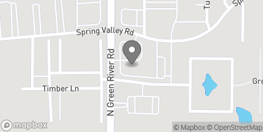 Map of 3231 N Green River Rd in Evansville