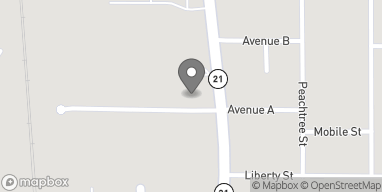 Map of 813 N Main Street in Atmore