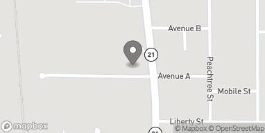 Mapa de 813 N Main Street en Atmore