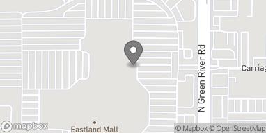 Mapa de 800 N Green River Rd en Evansville