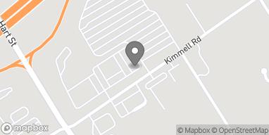 Map of 632 Kimmel Rd in Vincennes