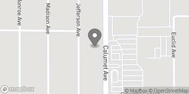 Map of 7940 Calumet Ave in Munster