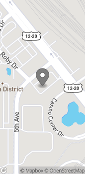 Map of 1015 5th Avenue in Hammond