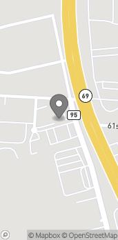 Map of 5980 Old Greensboro Rd in Tuscaloosa