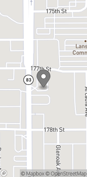 Map of 17709 S. Torrence Avenue in Lansing