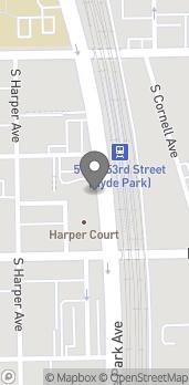 Mapa de 5222 South Lake Park Ave en Chicago