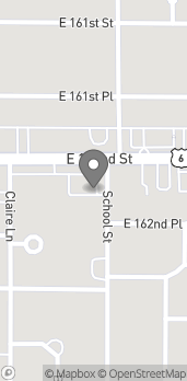 Map of 569 E 162nd St in South Holland