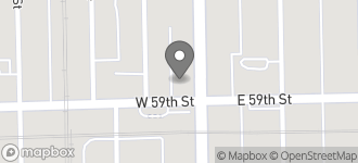 Map of 6 West 59th Street in Chicago