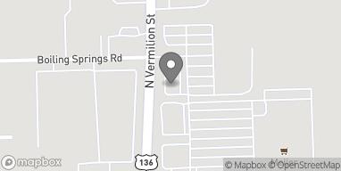 Map of 3679 N Vermilion Street in Danville