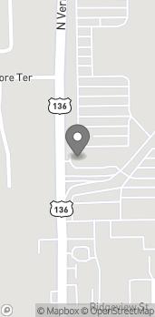 Map of 2807 N Vermillion in Danville