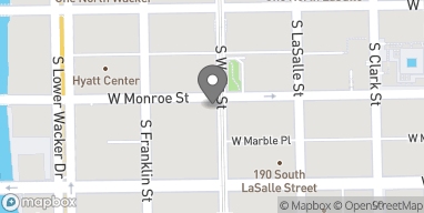 Map of 205 West Monroe in Chicago