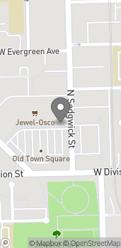 Map of 1234 N Sedgwick St in Chicago